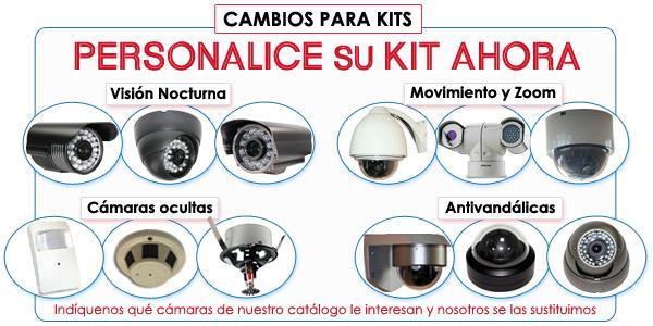 Kit Vigilancia 2 Camaras Ampliable Interior Avanzado