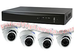 KIT VIDEOVIGILANCIA INTERNET TVI FULL HD 1080P
