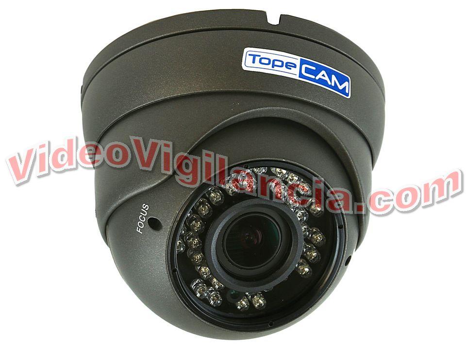 4c53aeb597 CÁMARA DOMO FULL HD 1080P VARIFOCAL 2,8-12 MM GRIS