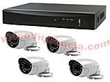 KIT VIGILANCIA FULL HD 1080P EXTERIOR